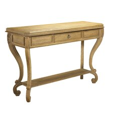 Modernly Classic Console Table by French Heritage
