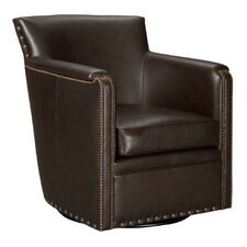 Val Swivel Club Chair by Leathercraft