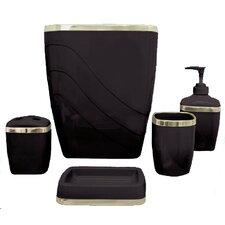 Wayfair Basics 5-Piece Bathroom Accessory Set