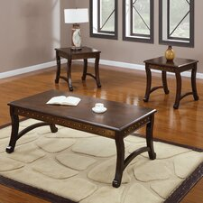 Belita 3 Piece Coffee Table Set
