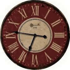 "French Decor 24.5"" Wall Clock"