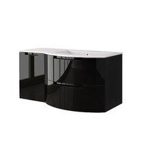 Oasi 53 Single Left Side Cabinet with Shelf Vanity Set by LaToscana