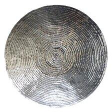 Goren Etched Metal Disc Wall Decor