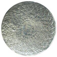 Vanya Etched Metal Disc Wall Décor