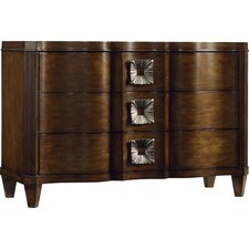 Serpentine 3 Drawer Chest by Hooker Furniture