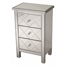 Channelle 3 Drawer Accent Chest