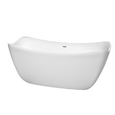Donna 67 x 30 Soaking Bathtub by Wyndham Collection
