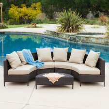 Dowd Low Profile 5 Piece Seating Group with Cushion