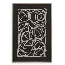Thoroughly Modern 'Rectangle Decograph' Framed Graphic Art