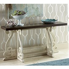 Hidden Treasures Console Table by Hammary