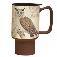18 oz. Owl Travel Mug