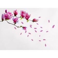 Magnolia Flowers Wall Sticker