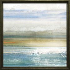 """""""Dawning I"""" by Tom Reeves Framed Painting Print on Wrapped Canvas"""