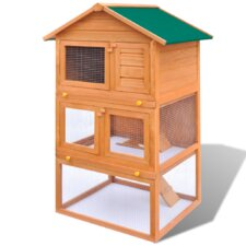 Rabbit Hutch with 4 Levels