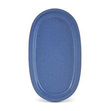 """Platte oval """"Ammerland Blue"""""""