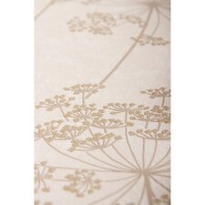 Innocence 10m L x 64cm W Floral and Botanical Roll Wallpaper