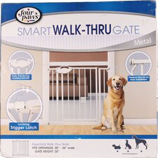Essential Walk Through Metal Dog Gate