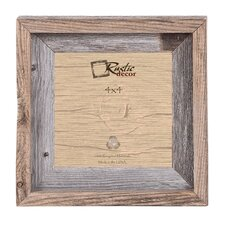 signature reclaimed barn wood wall picture frame