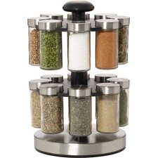 Lexington 16 Jar Spice Jar & Rack Set