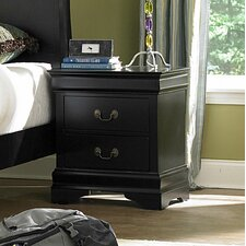 Bader 2 Drawer Nightstand by Darby Home Co®