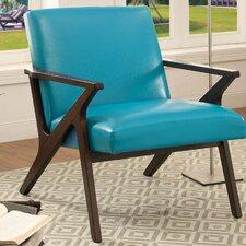 Shankill Faux Leather Armchair