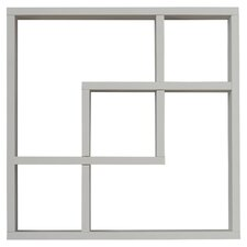 Freed Geometric Square Wall Shelf