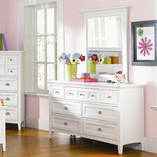 Poet 7 Drawer Dresser with Mirror by Viv + Rae
