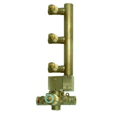 Thermostatic Rough in with 3 Volume Control Valves