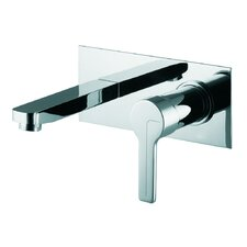 Matrix Wall Mounted Bathroom Sink Faucet with Single Handle