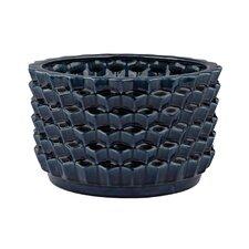 Accordion Ceramic Pot Planter