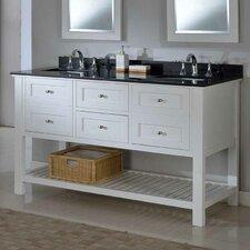Mission Spa 60 Double Bathroom Vanity Set by Direct Vanity Sink