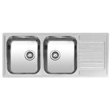 116 cm x 50 cm Küchenspüle Centurio R 30