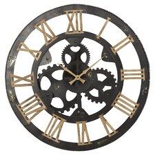 "Oversized 29"" Iron Wall Clock"