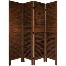 """Jeanpierre 67"""" x 66"""" Classic Venetian 4 Panel Room Divider"""
