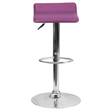 Adjustable Height Swivel Bar Stool by Zipcode Design