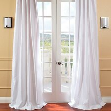 Lochleven Solid Blackout Thermal Rod Pocket Single Curtain Panel
