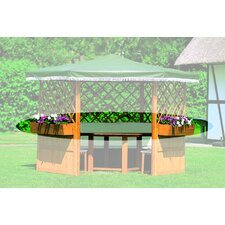 Planter Box Set for Torrino und Tivoli Pavillion (Set of 5)