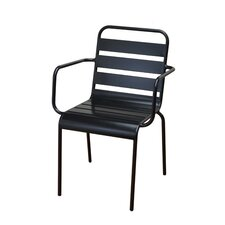 Stacking Dining Arm Chair (Set of 2)