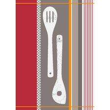 Geschirrtuch Jacquard Wooden Spoon