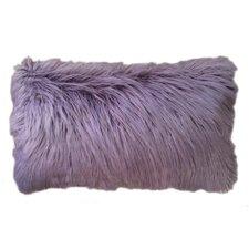 Alanna Faux Mongolian Lumbar Pillow