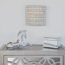 Garion Glam Doll Cordless 1-Light LED Flush Mount