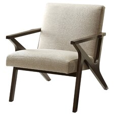 Upholstered Accent Armchair