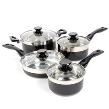 Cramerton 8 Piece Stainless Steel Cookware Set