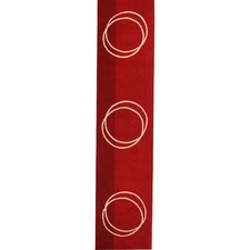 Rodeo Drive Hand-Tufted Red Area Rug