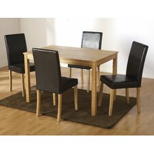 Anns Dining Set with 4 Chairs