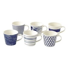 Pacific 13 oz. Accent Mugs (Set of 6)