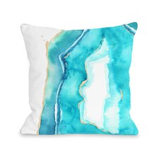 Bold Formations Fleece Throw Pillow