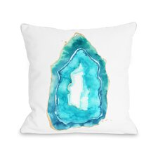 Petite Formations Fleece Throw Pillow