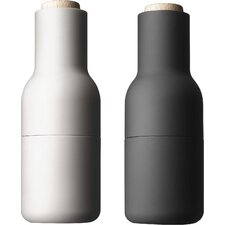 Small Bottle Salt and Pepper Grinder (Set of 2)
