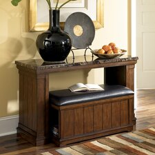 Hodgkinson Console Table with Ottoman by Darby Home Co